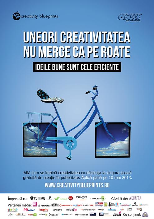 Creativity Blue Prints designist 01