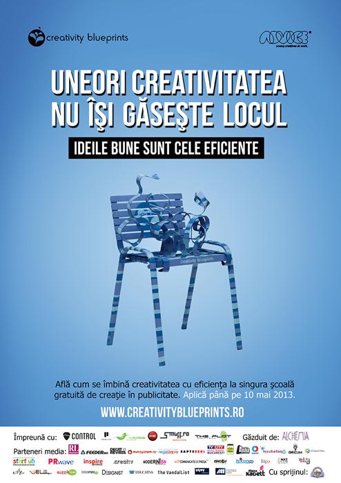 Creativity Blue Prints designist