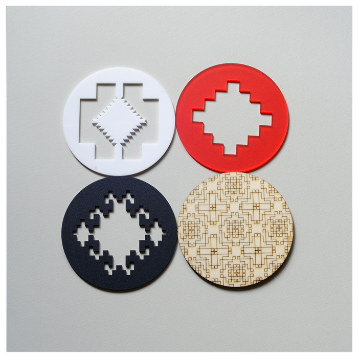 Culture Soup coasters - Made in RO (2)