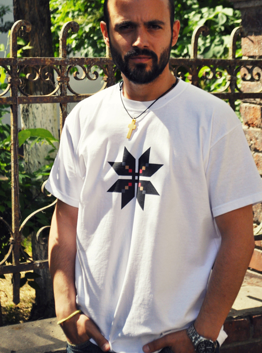 Tricou cu Tricolor -Designist (4)