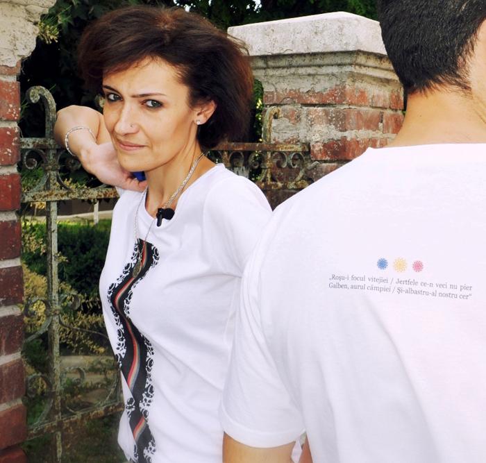 Tricou cu Tricolor -Designist (6)