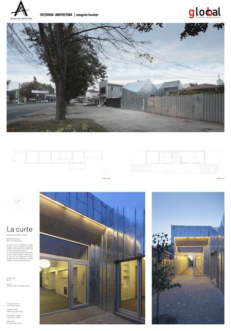 Arhitectura LOCUINTE La Curte, Galati Arh Cristina Trofin Arh Andreas Oliver Heierle 1