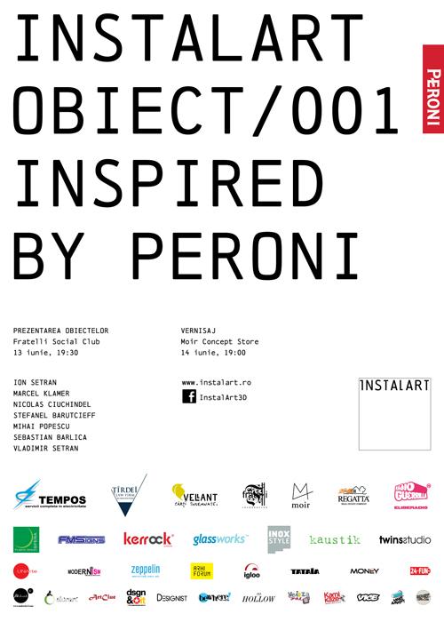 Peroni Anniversario - Instalart - Designist