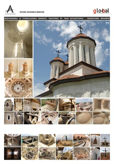 RESTAURARE si REABILITARE Biserica Sf Ioan Botezatorul Arh Daniel HOINARESCU Arh Calin HOINARESCU2