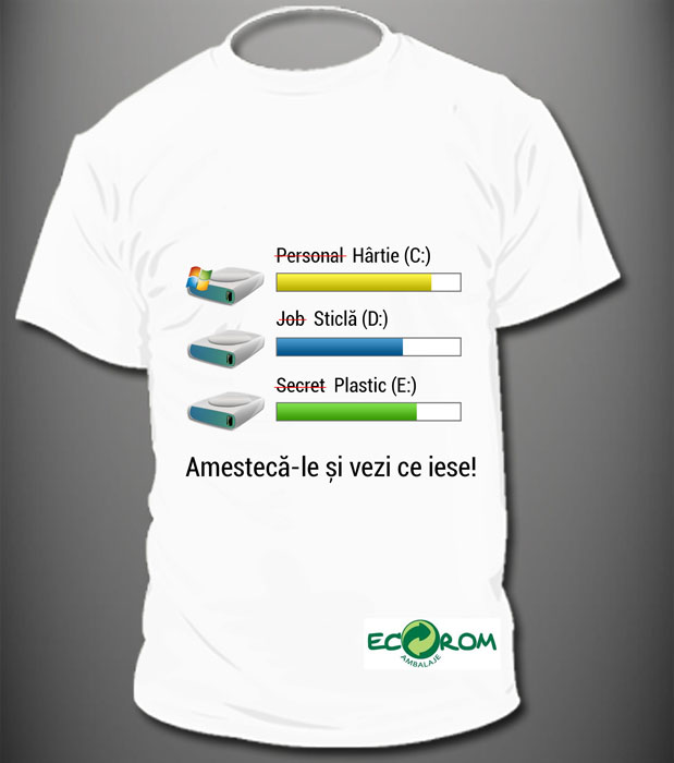 Locul III_Design de tricou - Designist