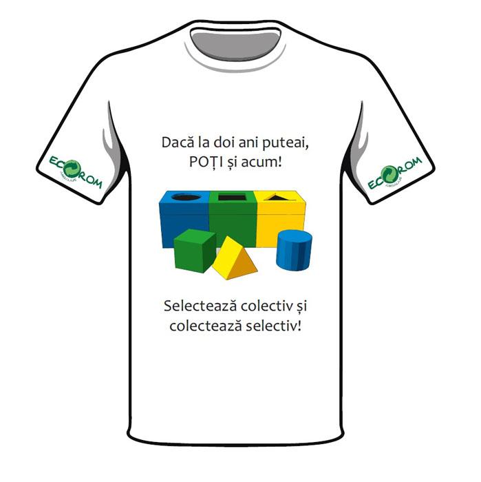 Locul II_Design de tricou - Designist