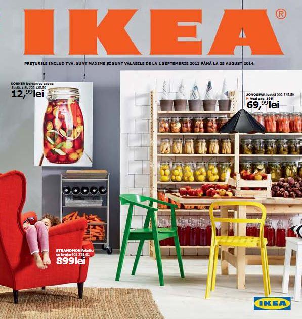 Azi s-a lansat noul catalog IKEA