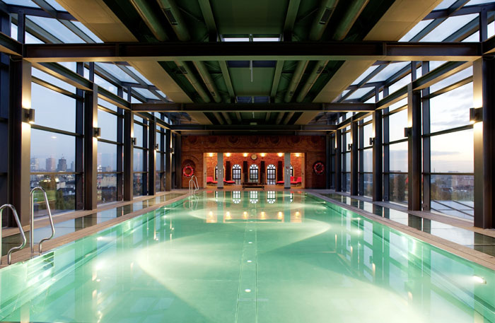 andels lodz rooftop pool designist 10