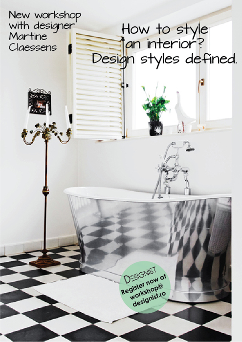 Afis final workshop How to style an interior