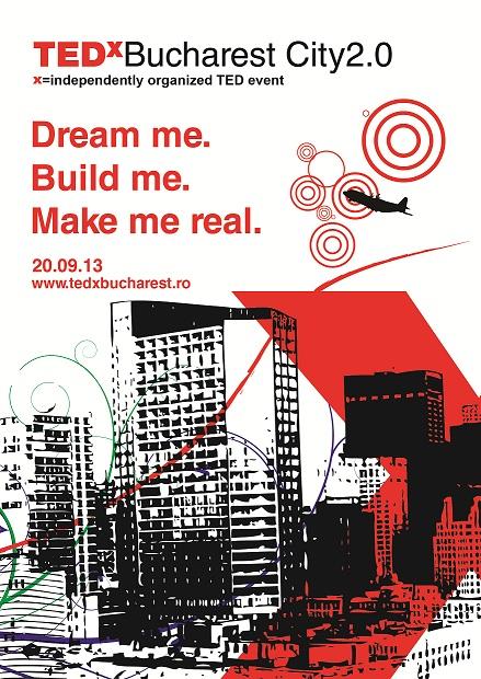 Vizual TEDxBucharest City2.0
