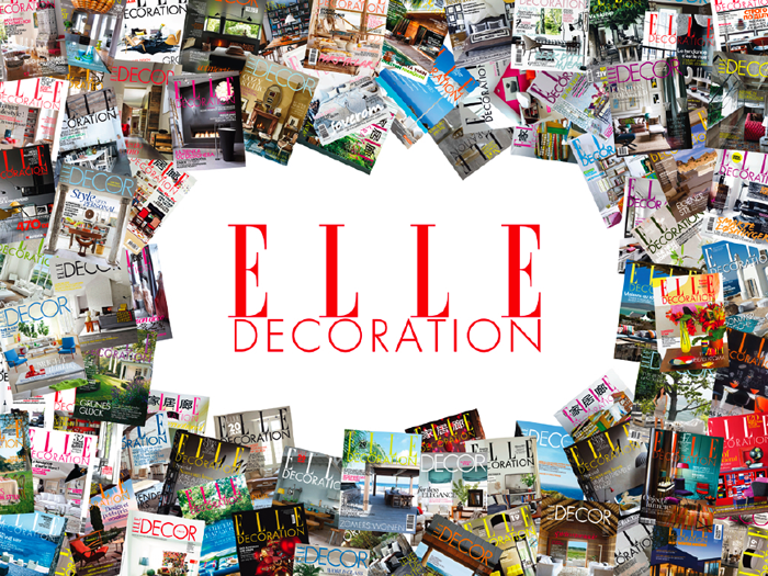 ELLE Decoration apare in 28 de editii