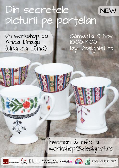 Vizual workshop Una ca Luna