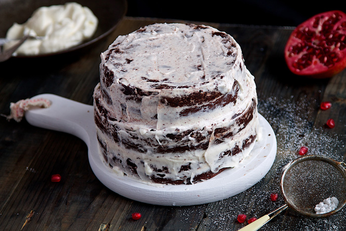 Flori de menta - Tort Ciocolata - Designist (1)