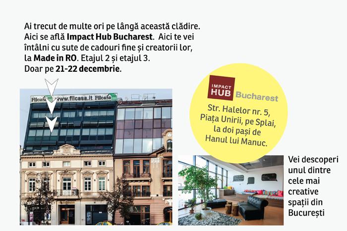 Locatia Impact Hub Bucharest