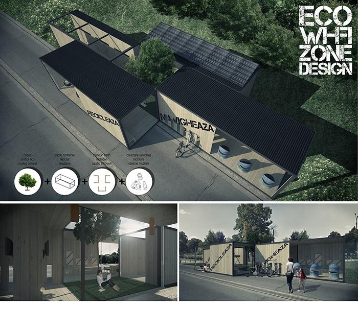 Locul III_Eco Wi-Fi Zone Design - Designist