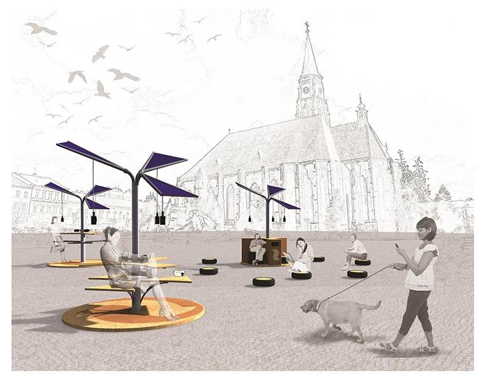 Locul II_Eco Wi-Fi Zone Design - Designist