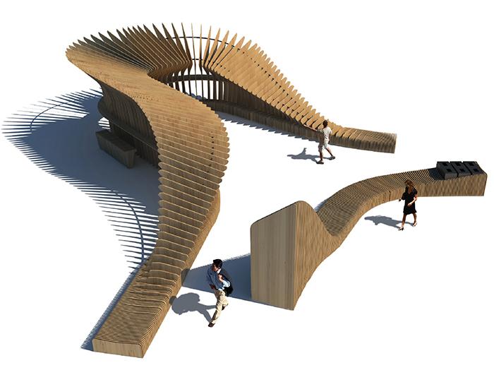 Locul I_Eco Wi-Fi Zone Design - Designist