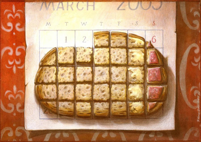 pawel kuczynski designist calendar