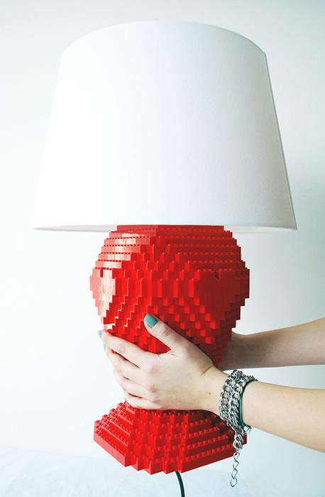Lampa Lego - Creative Brick - Designist (3)