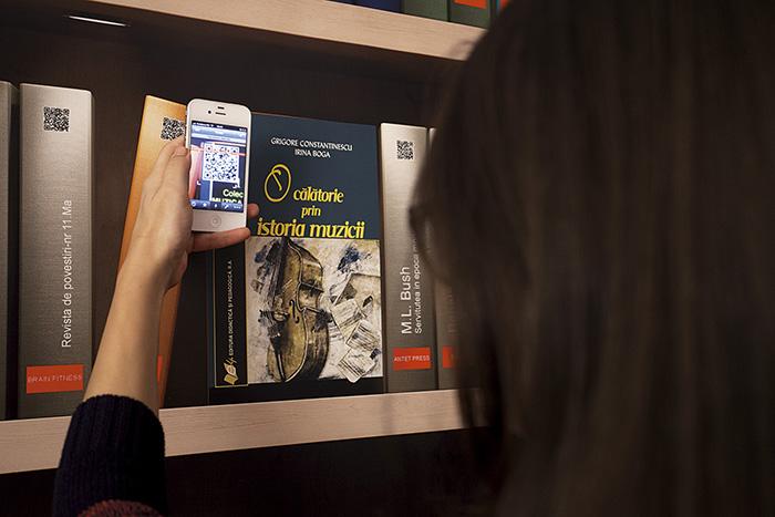 Biblioteca digitala - Vodafone - Designist