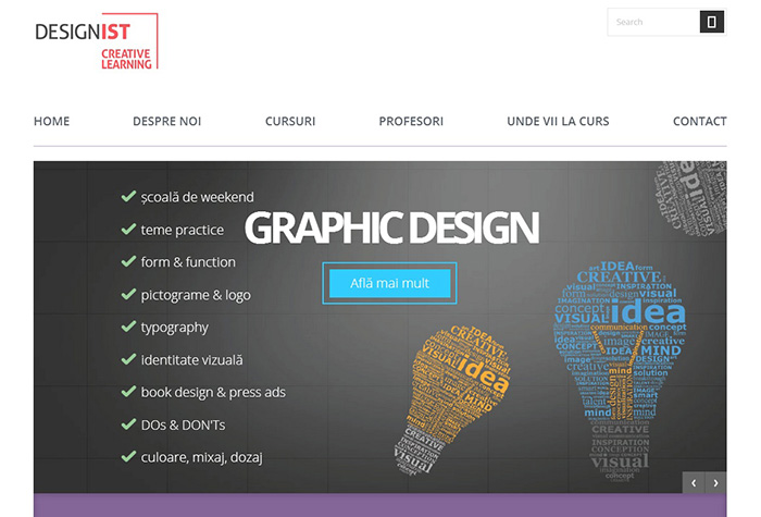 Creative Learning print screen - Designist