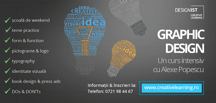 Designist Creative Learning - curs (2)
