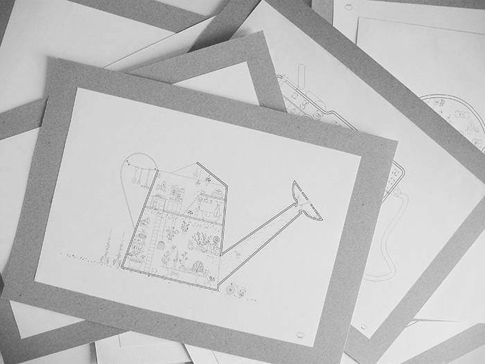 Hai - Designist - ilustratii