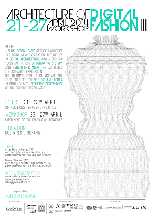 OFFICIAL POSTER Architecture in Fashion ed. 3