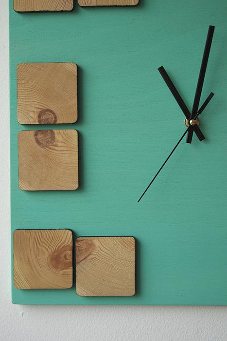 Ceas din lemn -DecoBox
