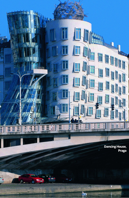 Dancing House Praga xella