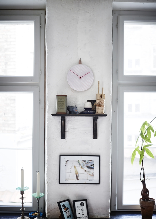 IKEA PS 2014 clock striped.lilac_39.99 - Designist
