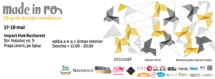 cover foto Made in RO pentru site .care?Cutare îmblânzește geometria urbană la Made in RO, 17&18 mai @ Impact Hub