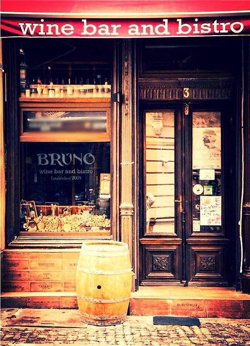 Bruno - wine bar - Designist