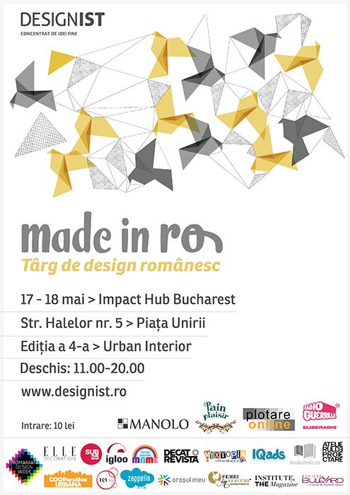 Made in RO Targ de design romanesc editia 4 vizual final