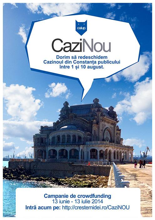 CAZINOU CROWDFUNDING - Designist