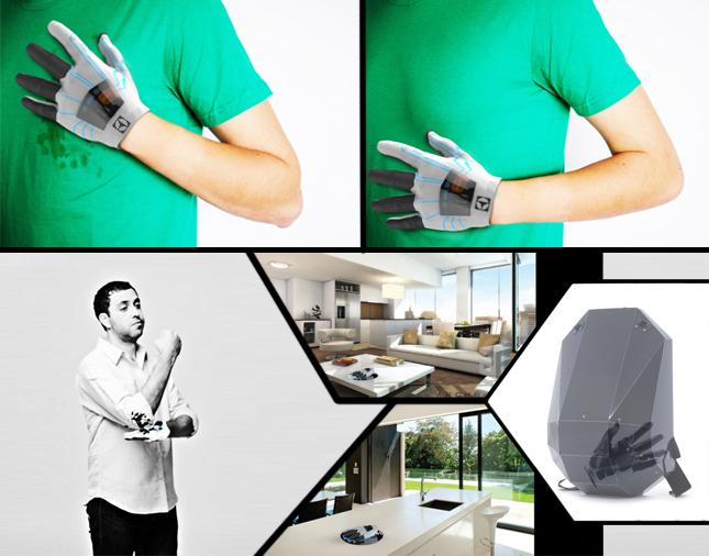 INSTANT CLEANING GLOVE - Stefan Bogdan - Designist