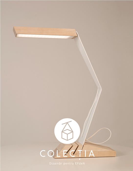 Colectia.Dizainar pentru EFdeN_lampa de birou Rizi Design_a