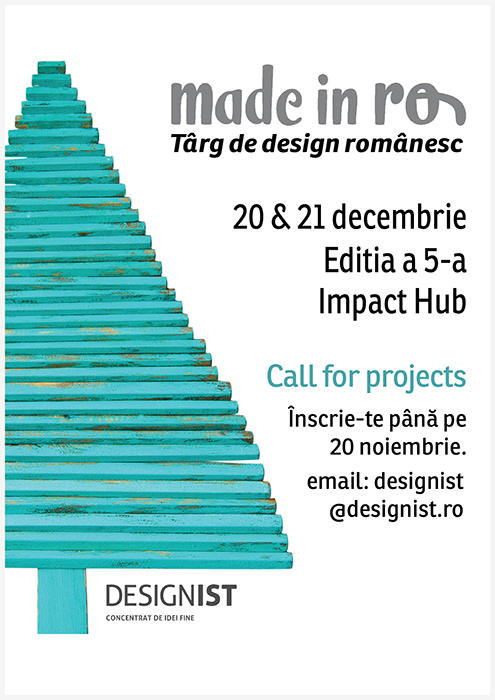 Made in RO Targ de design romanesc editia 5 vizual call for projects