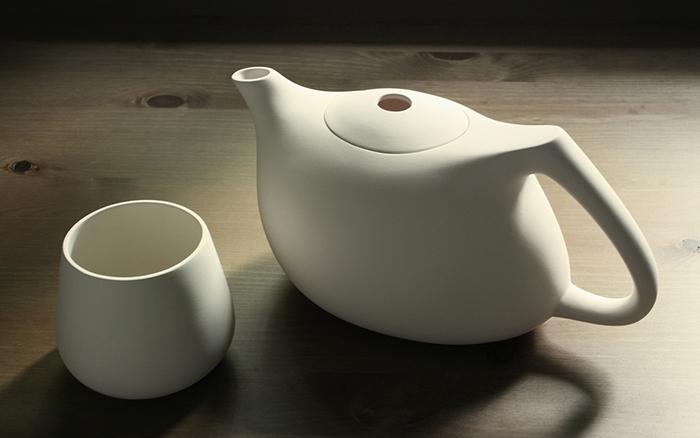 Ceainic minimalist by Ceramic Sparrow