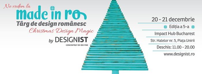 FB cover Made in RO Parteneri desgineri Designeri noi, colecții noi și branduri noi de design românesc care te vor convinge că toate cadourile de Crăciun se iau de la Made in RO!