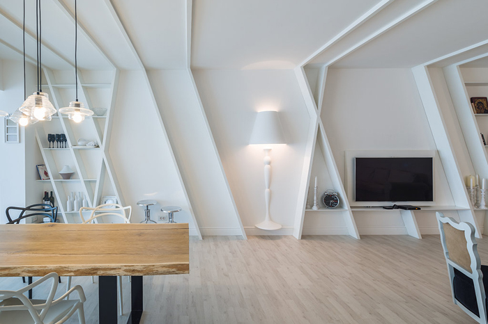 12Apartament alb - Igloo media - Designist