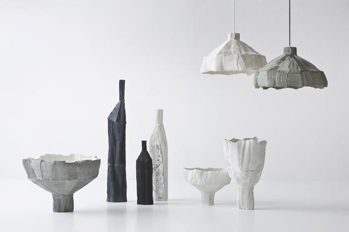 Paper Clay 2015_Cartocci Print_Vasi ciotole e Lampade Designist 02
