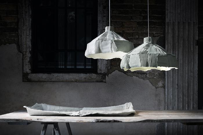 Paper Clay 2015_Cartocci_Vassoio e Lampade V7C7294_Designist 06