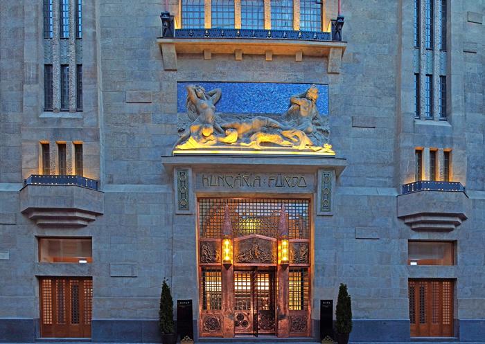 13Continental Hotel Budapest - Designist