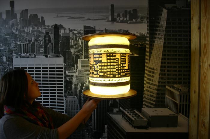 1New York lampp - bricolaj - Designist