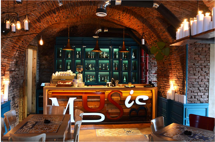 7Music Pub - Sibiu - Designist