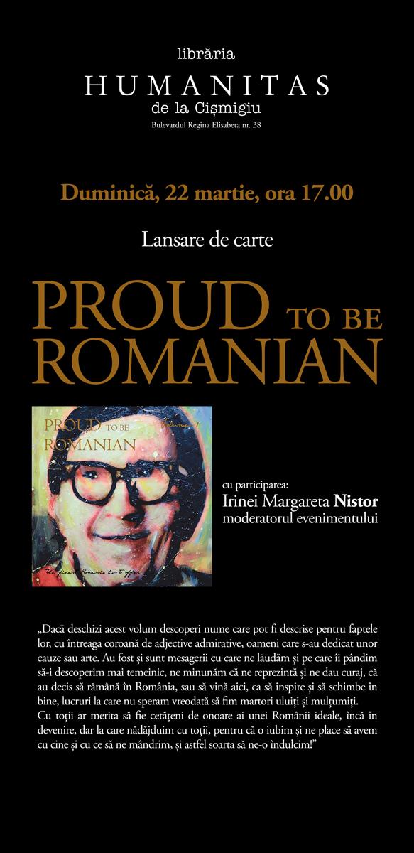 1Proud to be Romanian - volum 1 - Designist