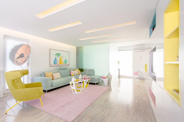 6Apartament colorat exotic - Hamid Nikola Katrib - Designist