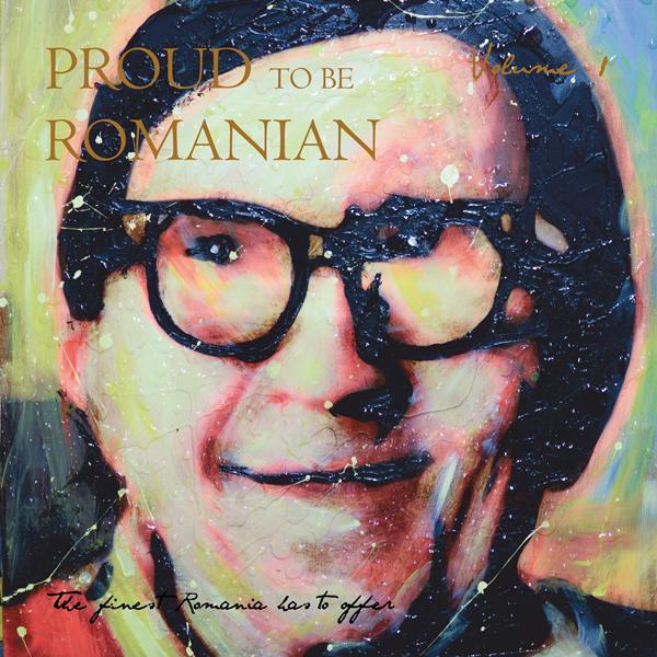 Proud to be Romanian - coperta - Designist