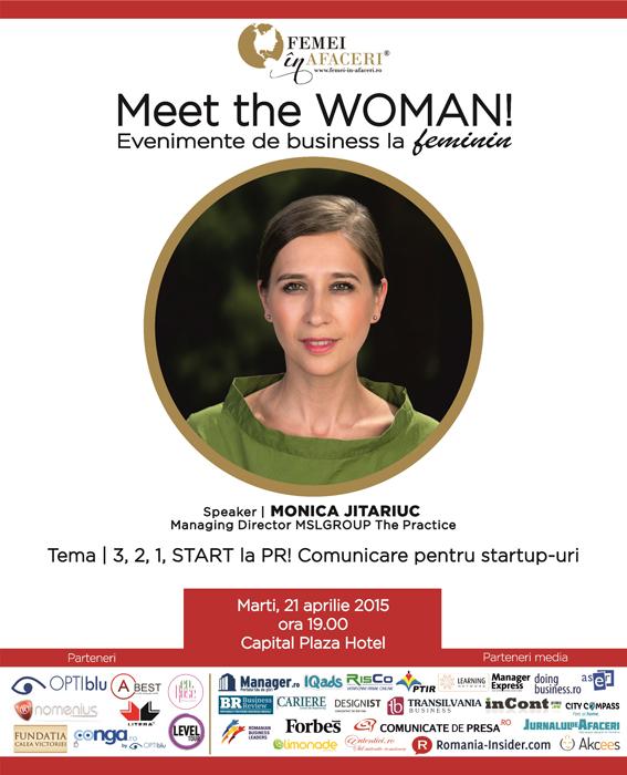 Macheta Monica Jitariuc speaker Meet the WOMAN - Designist